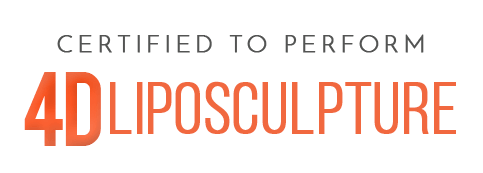 CERTIFIED TO PERFORM 4D LIPOSCULPTURE